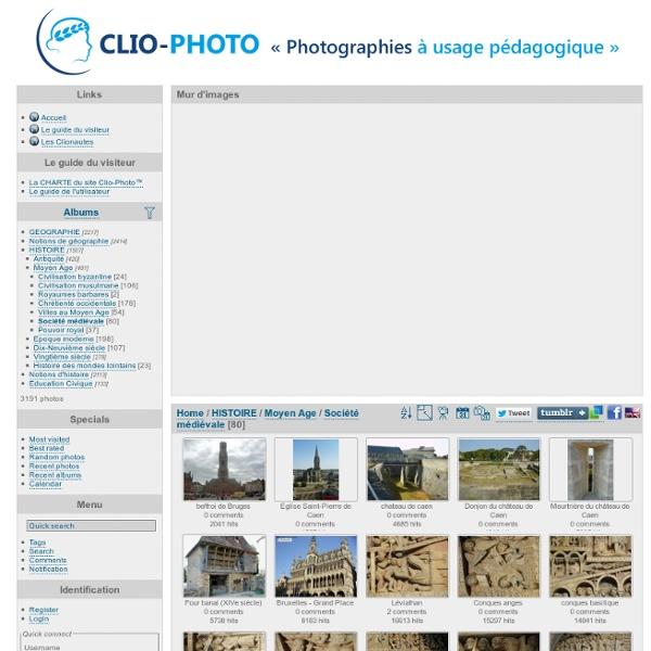 Accueil / HISTOIRE / Moyen Age / Société médiévale