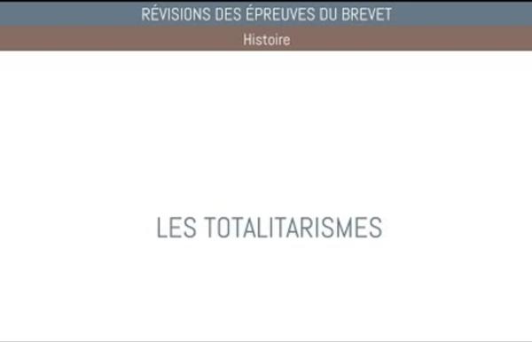 HISTOIRE - BREVET - 04 Les totalitarismes