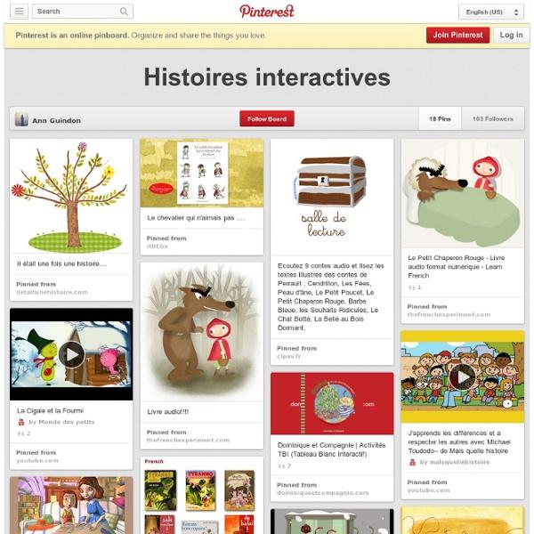 Histoires interactives