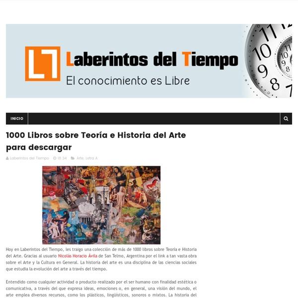 1000 Libros sobre Teoría e Historia del Arte para descargar - Laberintos del Tiempo