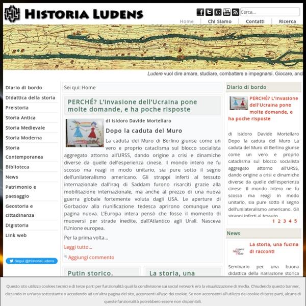 Historia Ludens - Didattica della Storia