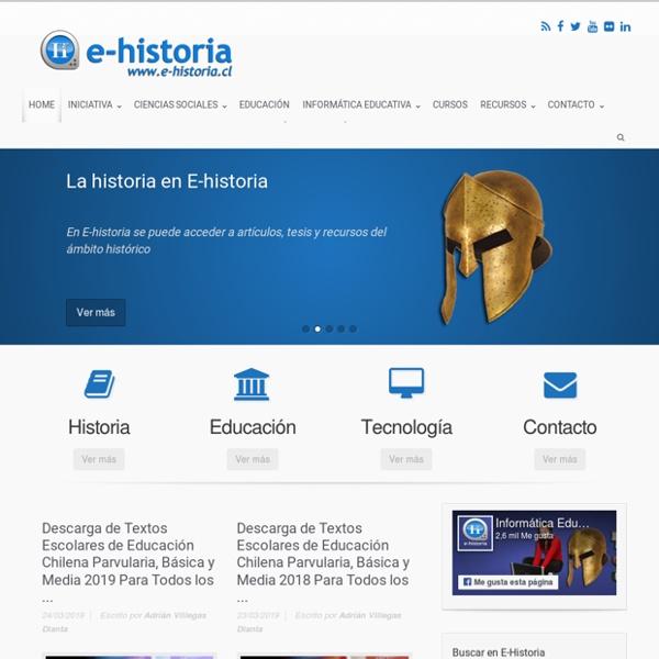 E-Historia - Un portal de historia y tecnología