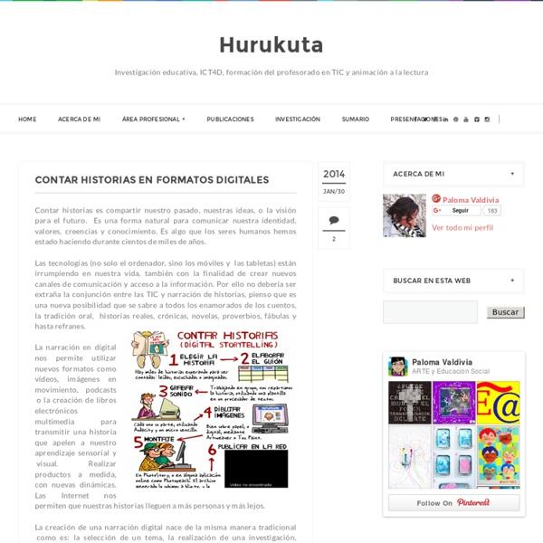 Contar historias en formatos digitales