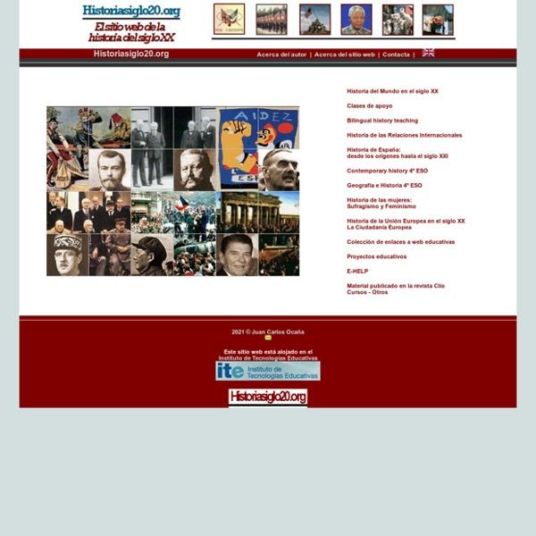 Historiasiglo20.org - El sitio web de la historia del siglo XX