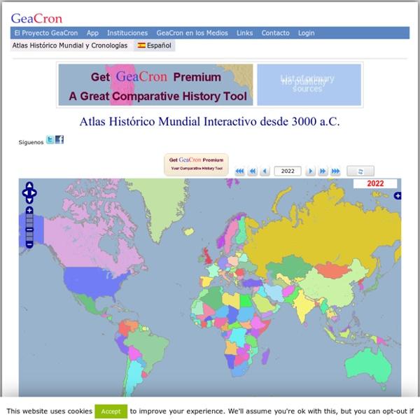Historia Universal. Mapas Históricos y Cronologías