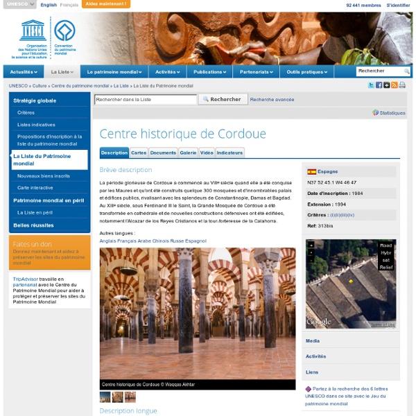 Centre historique de Cordoue