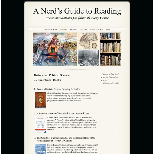 History - A Nerd's Guide to Reading