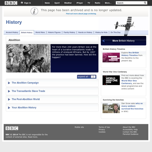 BBC Abolition of Slavery