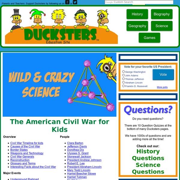 History: American Civil War for Kids