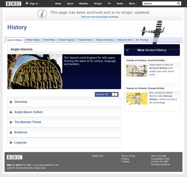 History: Anglo-Saxons