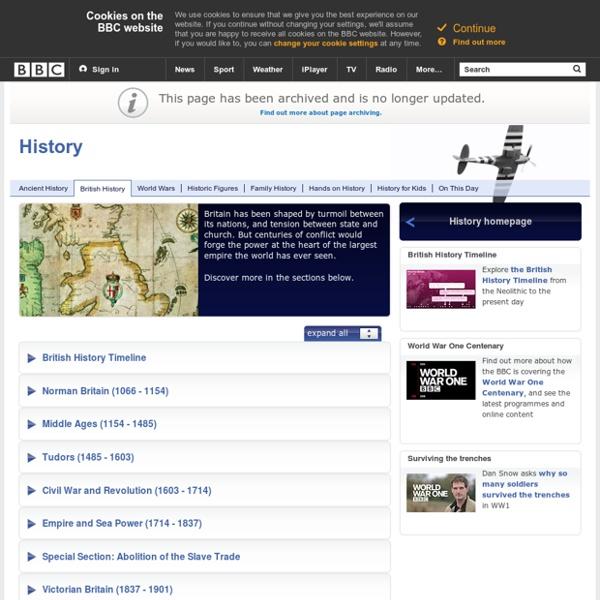 History: British History in-depth