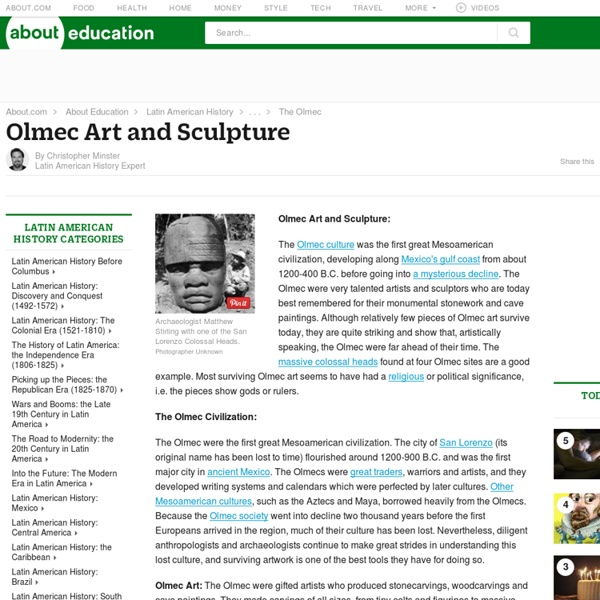 History and Details on Olmec Art and Sculpture