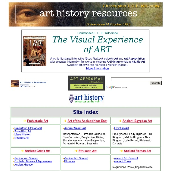 Art history web resources