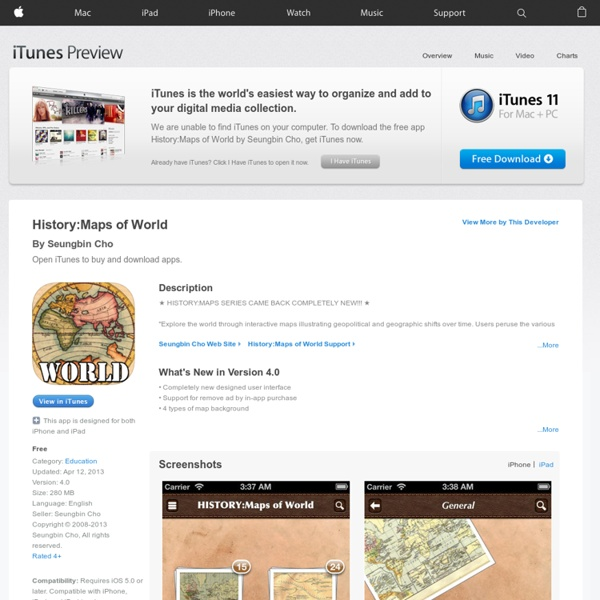History:Maps of World | Pearltrees