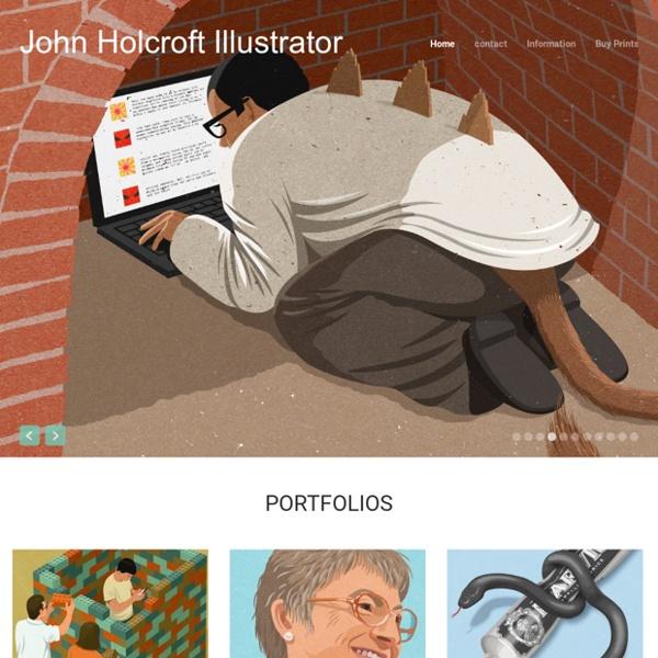 John Holcroft Illustrator www.johnholcroft.com