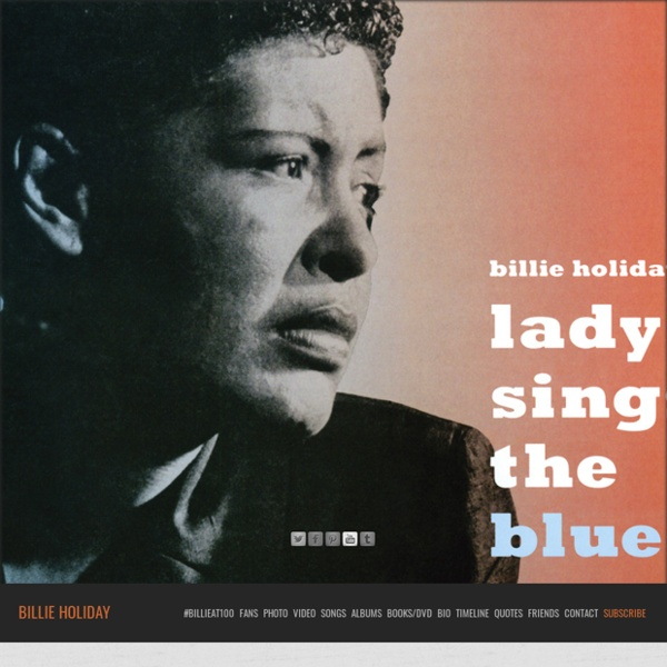 Billie Holiday » The Official Website of Billie Holiday
