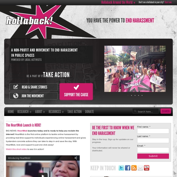 Hollaback! You have the power to end harassment