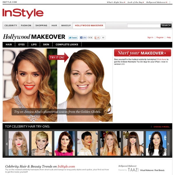 Hollywood Hair Virtual Makeover Try On Celebrity Akrossfo