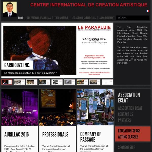 Festival international de théâtre de rue - AFFICHE 2012