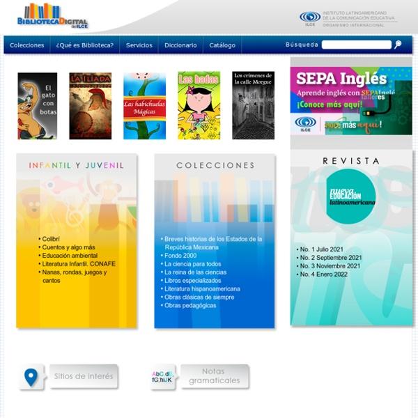 Biblioteca gratuita para primaria y secundaria