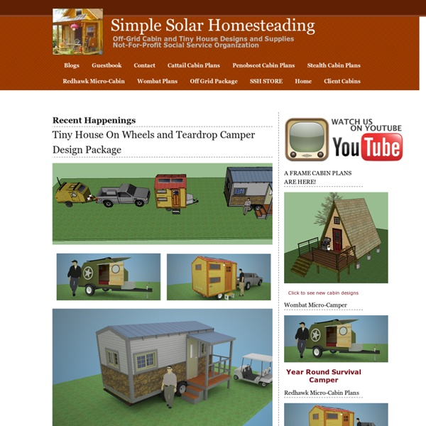 DIY Off-Grid Home: Simple Solar Homesteading