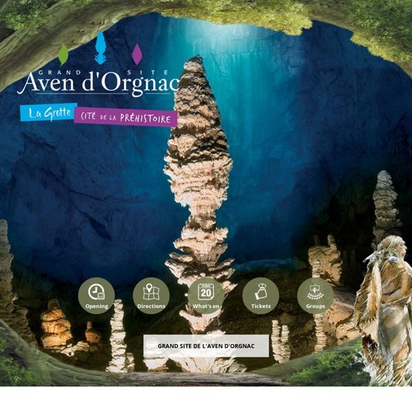 Aven d'Orgnac - Grand Site de France - Grotte et Musée de Préhistoire en Ardèche - Grotte en France