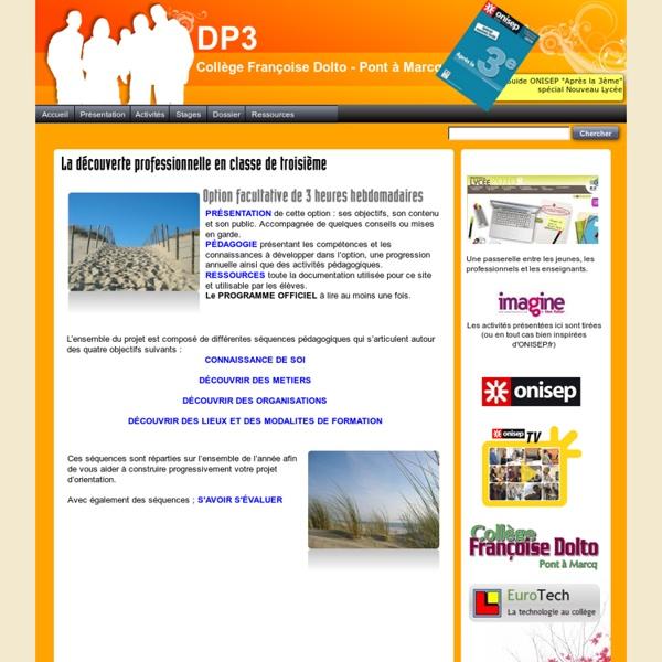 DP3 - Clg Dolto - Pont à Marcq