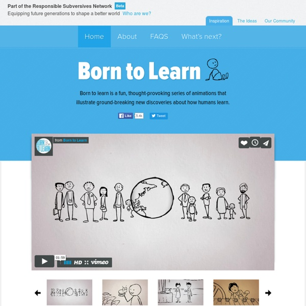 Born to Learn ~ You are Born to Learn