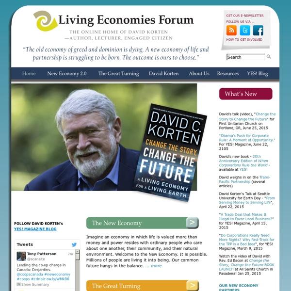 Living Economies Forum