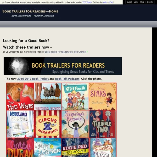 Book Trailers for Readers - home