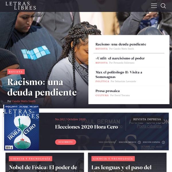 Letras Libres - Cultura, literatura, poesía, ensayo, política, crítica