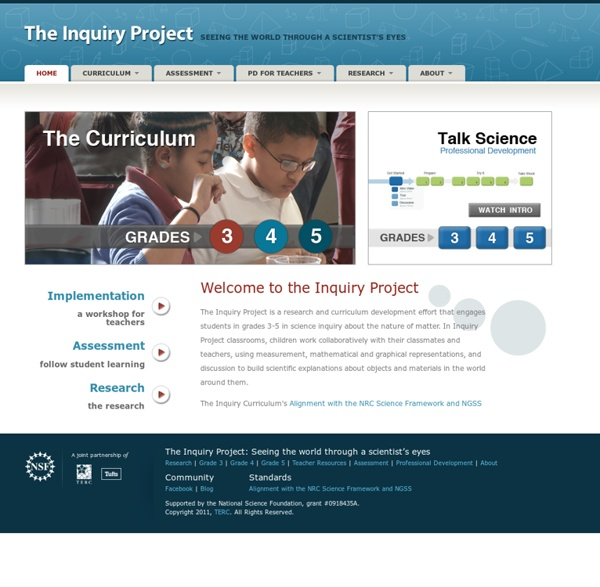 The Inquiry Project