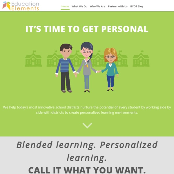 Education Elements-Blended Learning Made Easy