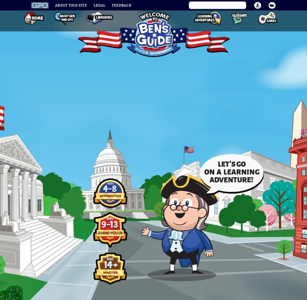 Ben's guide to government for kids 3-5 =515= - Peanut ...