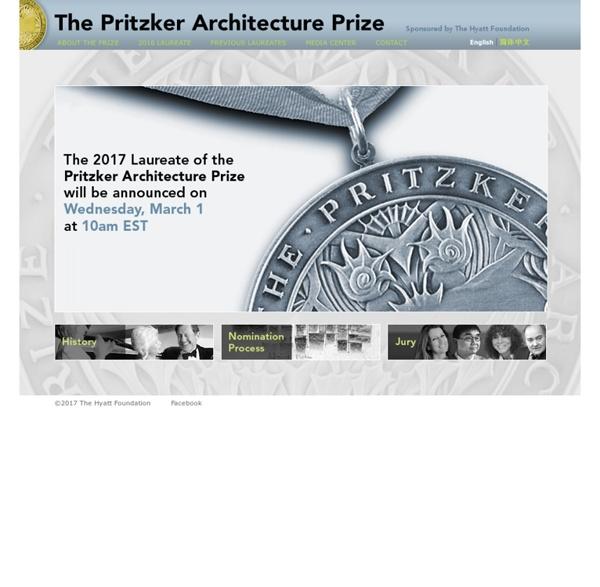 The Pritzker Architecture Prize