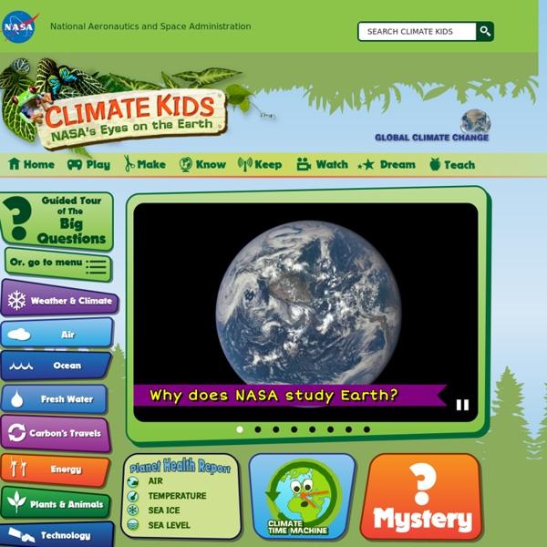 NASA : le climat