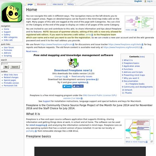 Sofware mapas mentales y conocimiento