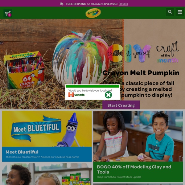 Official Crayola Site - Free coloring pages, crafts, lesson plans, games and more