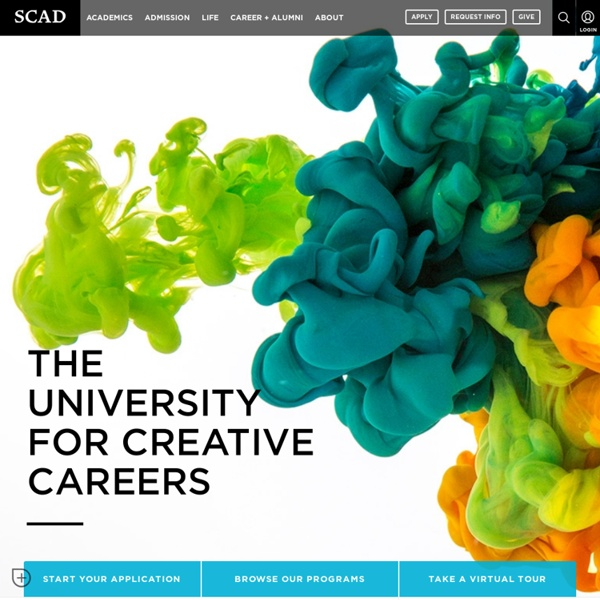 SCAD > The University for Creative Careers