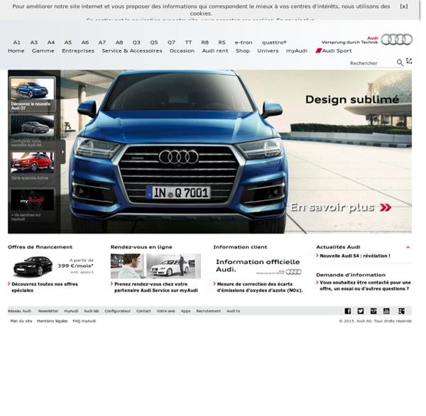 Home > Audi France