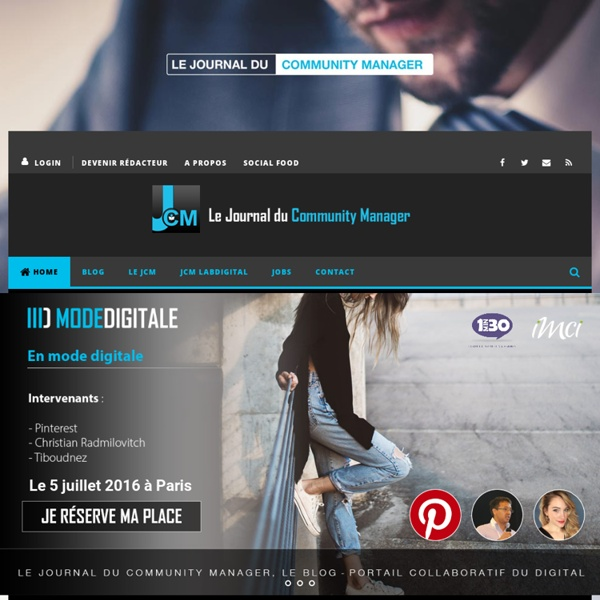 Le Journal du Community Manager - Social Media