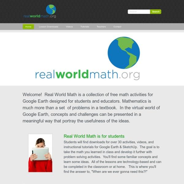 Real World Math - Home