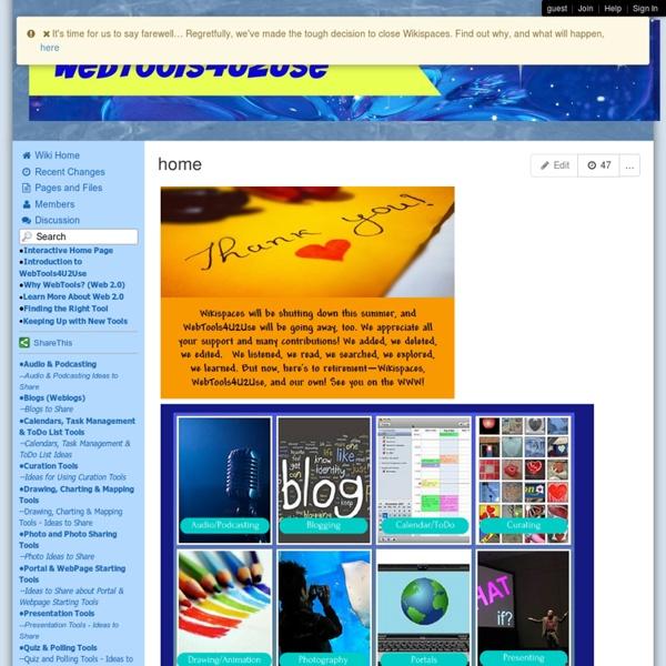 WebTools4u2use - home