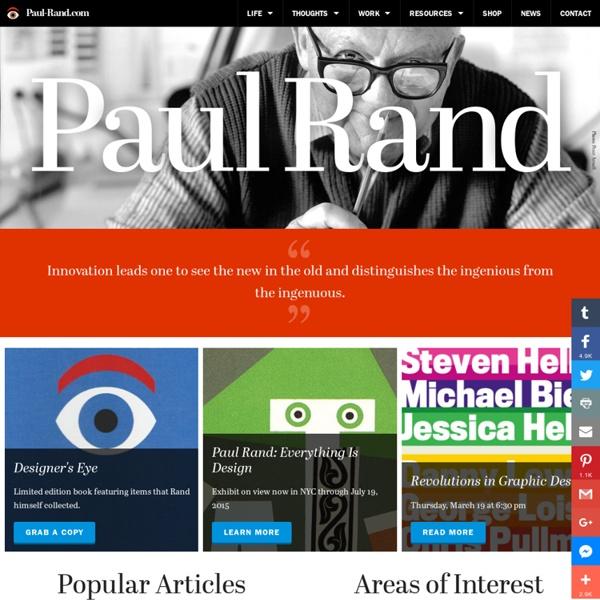CRÉA: Paul RAND -En