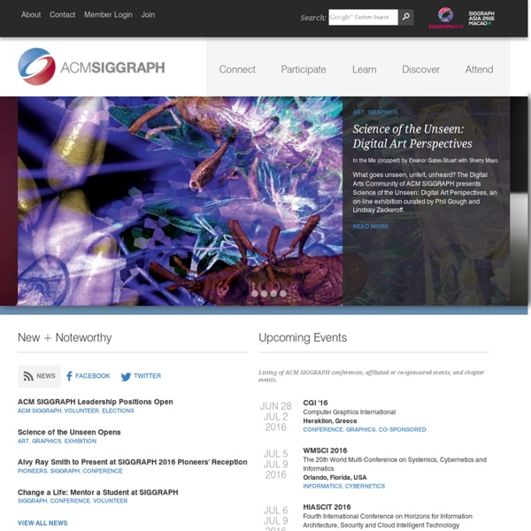 ACM SIGGRAPH News — siggraph.org