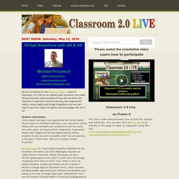 Classroom 2.0 LIVE! - Home