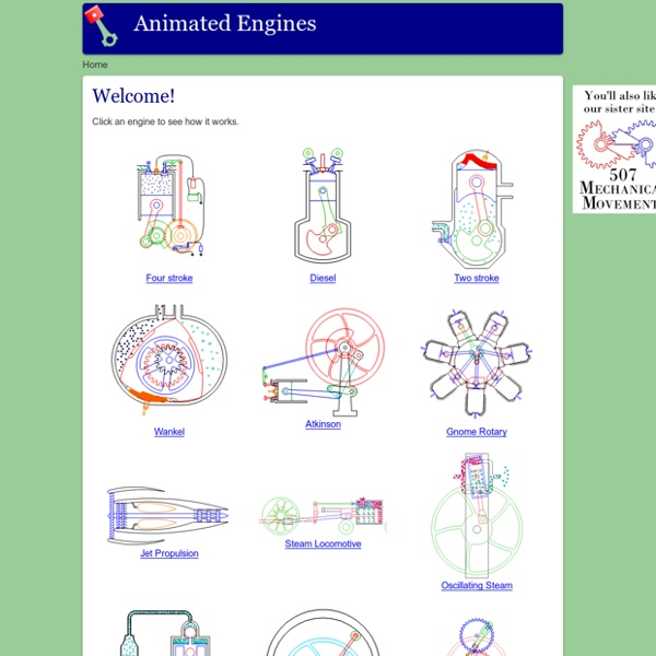 Animated Engines