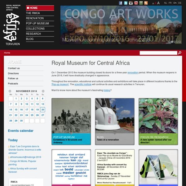 Royal Museum Centre Afrique - Tervuren - Belgium