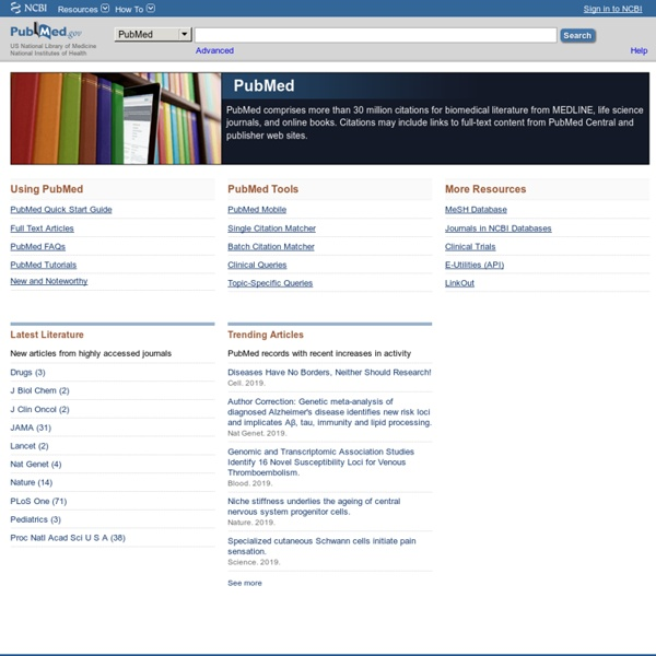 PubMed - Home