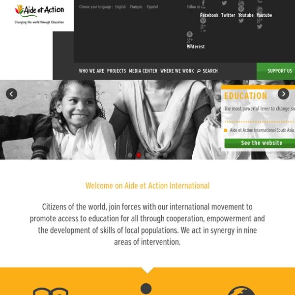 Aide et Action : association éducation, scolarisation enfants dans le monde